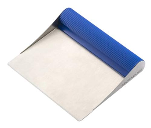 Tools & Gadgets Stainless Steel Bench Scrape, Blue (Pack of 2)