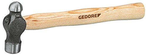 Preisvergleich Produktbild GEDORE 8601.25 8601 1 / 4 Englischer Schlosserhammer mit Kugel 1 / 4 lbs