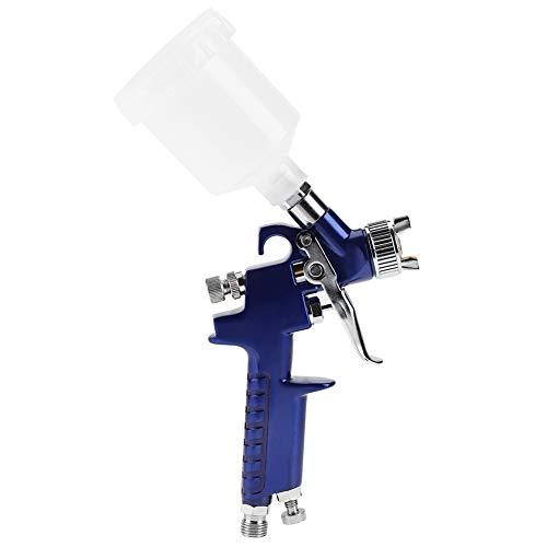 Pulverizador de pintura, máquina de pulverización, Pistola de pulverización neumática, H-2000A Professional 0.8/1.0mm Boquilla 125ml Mini máquina de pulverización...