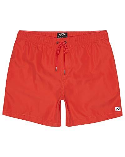 BILLABONG All Day LB Bañador de Surf de Pantalón, Hombre, Rojo (Red Hot), M