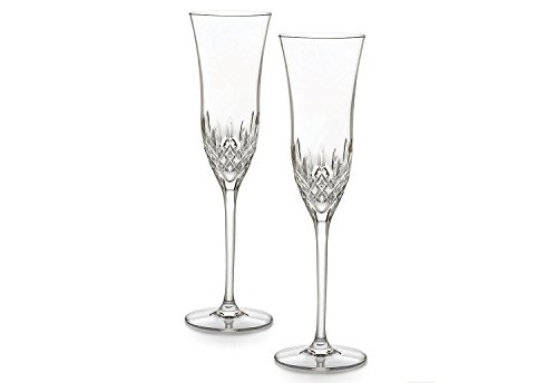 Waterford Crystal Lismore Essence Champagne Flute (Pair)
