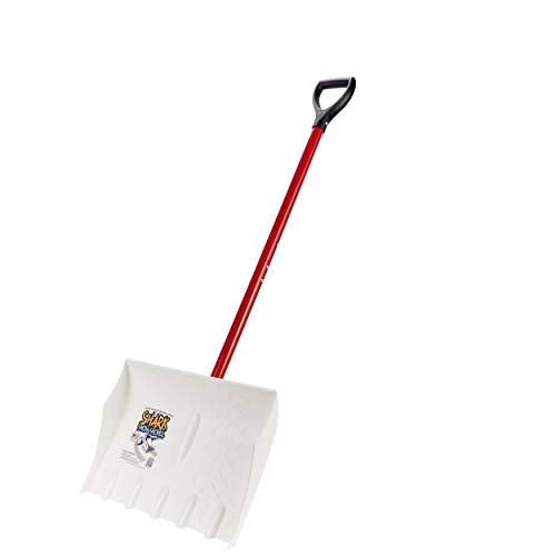 Lowest Prices! Shark 18-Inch Snow Shovel, Easily Removes Hard Packed Snow & Ice, The Last Snow Shove...