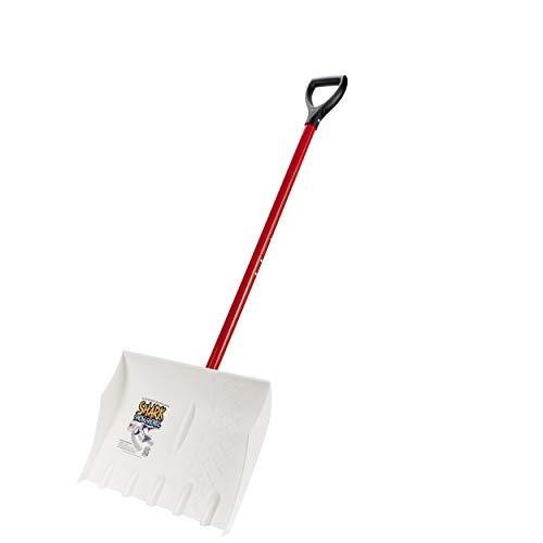 Shark 18-Inch Snow Shovel, Easily Removes Hard Packed Snow & Ice, The Last Snow Shovel You'll Ever Buy