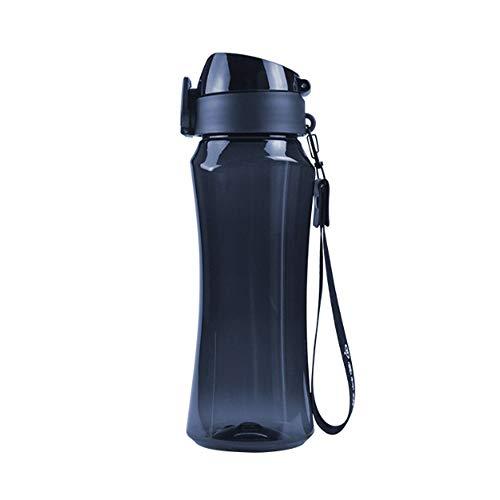 Botella Deportiva de Fitness-700ML, Plástico de Poliéster Tritan No Tóxico, Sin BPA y Respetuoso con el Medio Ambiente, Tapa Abatible de Una Tecla, Utilizado para Exteriores y Campamentos.