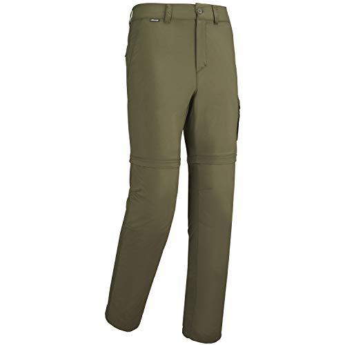 Lafuma - Access Zip-off M - Pantaloni Convertibili in Pantaloncini - Materiale Leggero e Anti-zanzare, Escursionismo, Colore: Cachi