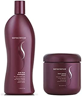 Kit Shampoo e Máscara Senscience True Hue (1000ml e 500ml)