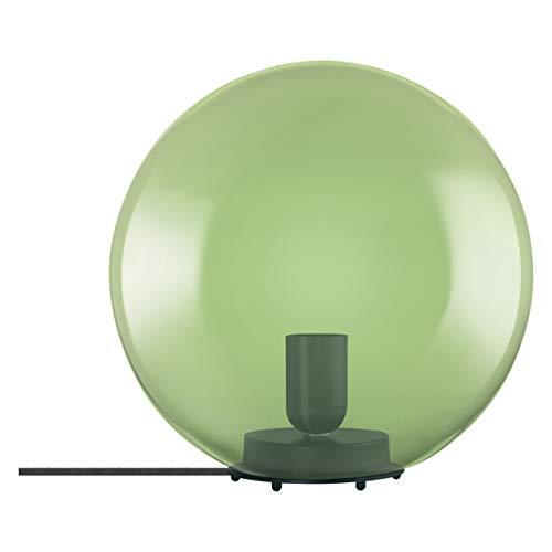 LEDVANCE Vintage Edition 1906, Tischleuchte mit E27 Sockel, Grünes Glas, Ohne Leuchtmittel, Bubble Table