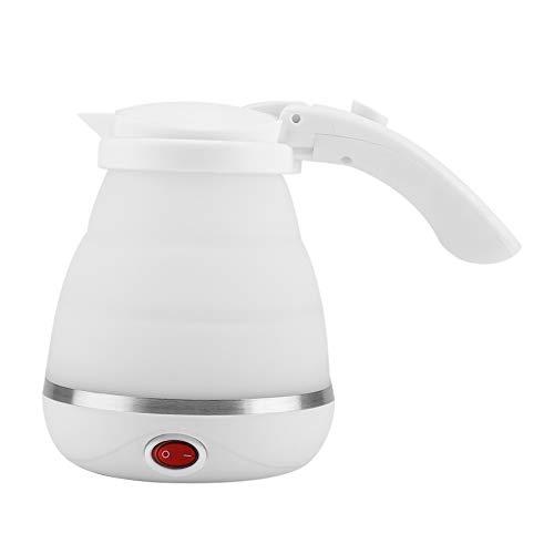 750ml Hervidor de Agua eléctrico de silicona Plegable Ligero 220V Blanco