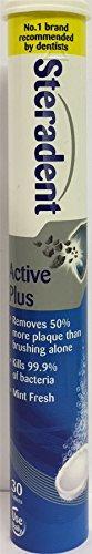 DRIE PACKS van Steradent Active Plus 30 tabletten