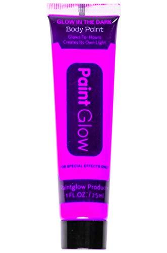 LG-Imports Glow in The Dark Body Paint neonviolett 25 ml