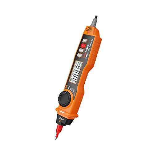 Berührungsloser Spannungsprüfer Induktiver Elektrodetektor Stift Steckdose Steckdose Wechselspannung 12V-600V Tragbarer Stift Multimetro Mit NCV und Sonde PM8211 (Ohne Batterie)