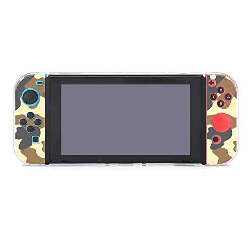 Coque de protection pour Nintendo Switch, filet de camouflage - Coque durable pour Nintendo Switch et Joy Con