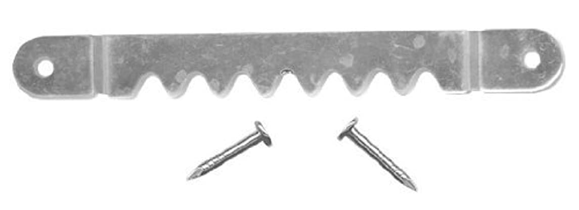 Sawtooth Hanger w/Nails For Easy Picture Hanging, 2-5/8