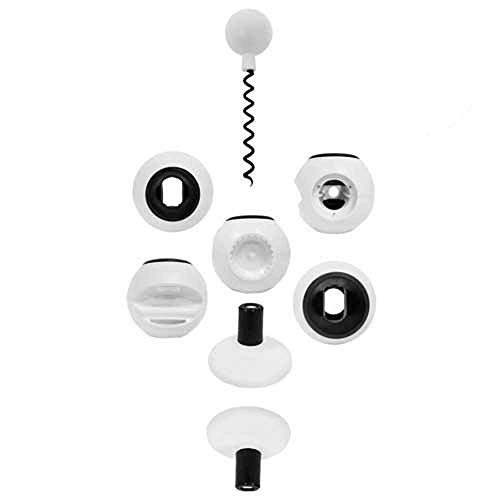 All Open 8 in 1 Multi-purpose Opener & Kitchen Tool (White)