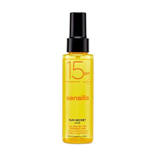 Sensilis Sun Secret - Aceite Protector para el Cabello con SPF15 - Pro