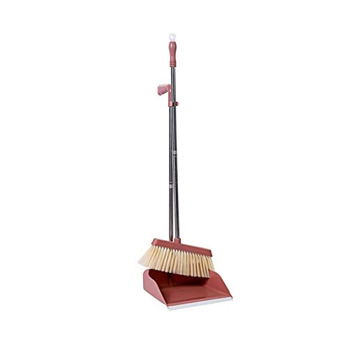 SADDPA huishoudbezem stofpanset vloerreiniger veegmachine stofkuip en borstel reinigingsgereedschap voor thuis Office Dustpan bezems
