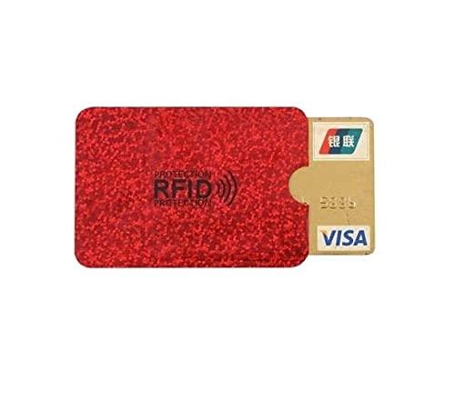 4 x Auslesesichere RFID-Schutzhülle für Kreditkarten & Co.gegen Datenklau,NFD