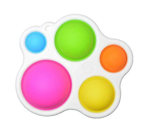Fidget DimpleToy, juguete educativo temprano, juguete de mano para aliviar el estrés, juguete de mano para aliviar el estrés, 4 piezas de juguete para aliviar el estrés, trastorno de hiperactividad