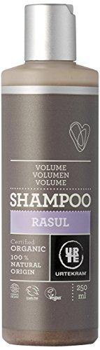 Urtekram Rasul Shampoo Bio, Volumen - für feines oder fettiges Haar, 250 ml