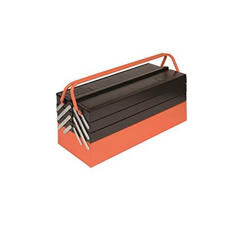 cassetta attrezzi 7 scomparti Jardiaffaires 1497MBF750 - Cassetta degli attrezzi con 7 scomparti