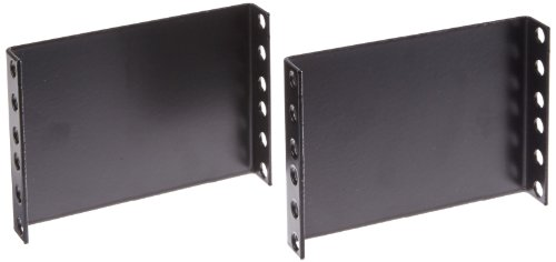 """BUD Industries PE-1600 Steel Panel Extender, 3-1/2"""" Panel Height, Black Finish, for Electronics Enclosure"""