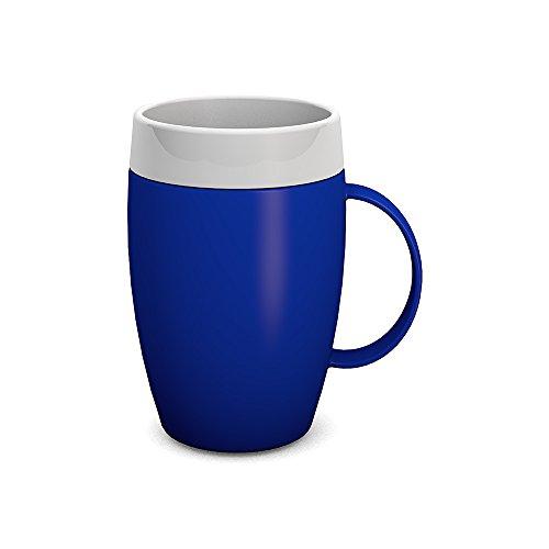 Ornamin Gobelet avec Intérieur Conique 140 ml Bleu (Modèle 905) / gobelet isotherme, aide à boire, tasse réutilisable