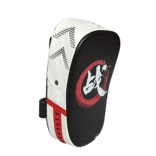 SGZYJ 1 Bolsa de perforación Boxeo Mat de sandbag Fitness Taekwondo Kick Pad PU Cuero Taekwondo Equipo de Entrenamiento Muay Thai Pie Target (Color : A)