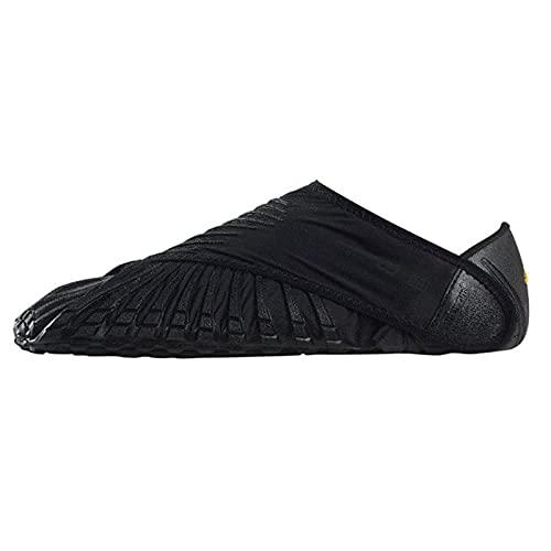 GJSC Fivefingers Vibram Furoshiki, Zapatos Furoshiki de Cinco Dedos Vibram Wrap Zapatillas Mujer, Calzado Descalzo Envolvente Black-Medium