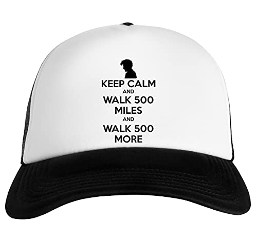 Luxogo Keep Calm and Walk 500 Miles Gorra De Béisbol Unisex Baseball Snapback Cap