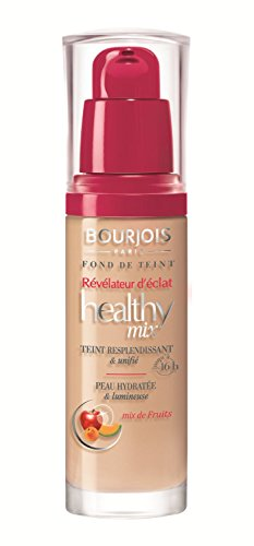 2 x Bourjois Healthy Mix Anti Fatigue Foundation 30ml Sealed - 56 Light Bronze