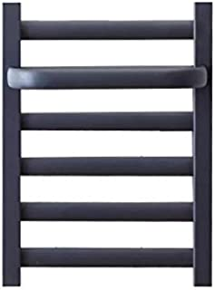 WXZX Toallero de Secado eléctrico, toallero Calentador de esterilización a Prueba de Humedad a Temperatura Constante, Negro, toallero calefactado para baño, radiador, bajo Consumo de energía