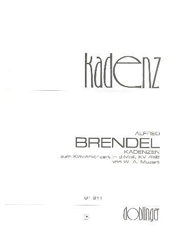 Kadenzen voor Mozarts piano concert d-Moll KV466 brander, Alfred, Bearb.