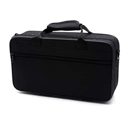 Haptian zwart schuim gepolsterde dikke Oxford doek Sotrage tas klarinet doos case met handvat riem klarinet bescherming accessoires