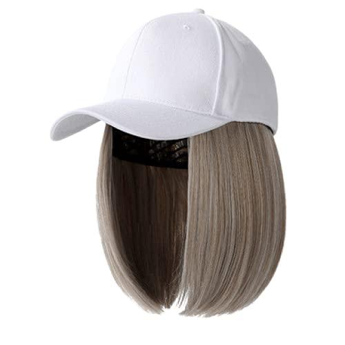 Cappellino da baseball Cappello moda 57cm Patchwork Cool Light Color System Capelli finti Lady Cappello da baseball Donna Cappellino per visiere per il tempo libero