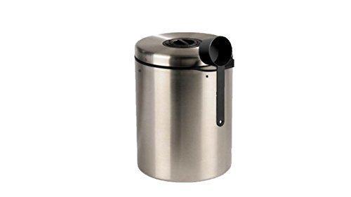 Vorratsdose passend für bis zu 1 KG Kaffeebohnen aus Edelstahl die neue 2013 die Lösung von James Premium®
