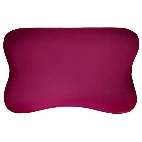 Bezug für BLACKROLL Recovery Kissen | In vielen Farben | Passgenauer Jersey-Kissenbezug | 100 % Baumwolle | Farbton: Burgund