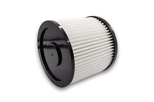 vhbw Rund-Filter für Mehrzwecksauger Herkules Auqa Steel 40, Aqua Steel 50, Herkules 3000, 3001, 4001