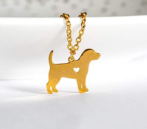 Hundekette - Tier - Animal - Hund - Haustier - Labrador - Tierliebe - Edelstahl - Geschenk - Hundemutter - Dog - Pet