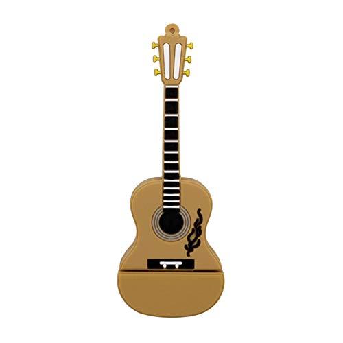 Demarkt USB Stick Lustig Gitarre 64GB USB-Stick 2.0 Memory Stick Flash Speicherstick Memory Speicher
