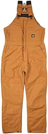 Berne Men s Heritage Insulated Bib Overall 3X Large Regular Brown Duck product image
