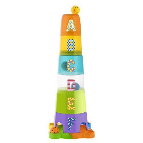 Chicco- Artsana-Gioco Torre con Palline, 00009308000000