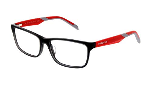 New Tag Heuer B Urban Eyeglasses - 0553 004 - Grey/Red (57-16-145)