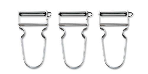 Swiss Rex Vegetable Peeler - 3 Pack
