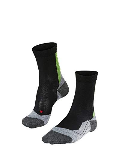 FALKE Herren Achilles, wadenlange Sportsocken - hilft bei Achillessehnen-Beschwerden - Funktionsfaser, 1 er Pack, Schwarz (Black 3001), Größe: 42-43