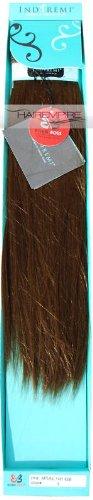 "Bobbi Boss Indi Remi Human Hair Extension Weave 18"" Yaki #6 (Chestnut Brown)"