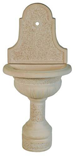 WUEFFE S.R.L. Fontana in Pietra ricostruita Te 01 - fontanella Esterno Giardino (Grigio)