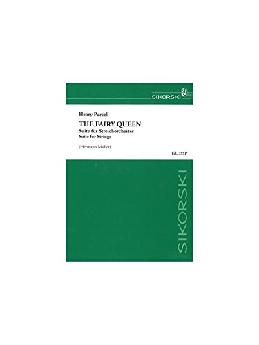 PURCELL - The Fairy Queen (La Reina de las Hadas) para Orquesta de Cuerdas (Partitura)