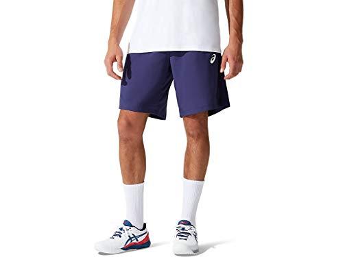 ASICS Court - Pantaloncini da Tennis da Uomo, 20 cm, Uomo, Pantaloncini da Tennis, 2041A176, Peaccoat, S