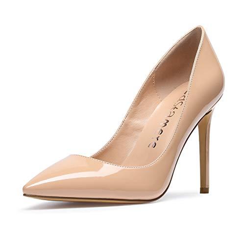 CASTAMERE Zapatos de Tacón Mujer Tacón de Aguja 10CM