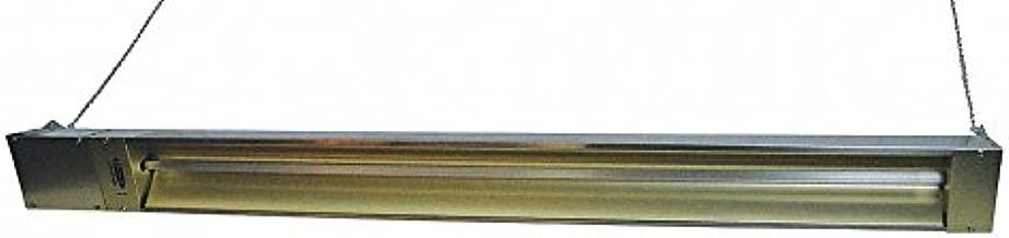 Fostoria Electric Infrared Heater, Indoor, Outdoor, Ceiling/Suspended, Voltage 240, Watts 3000
